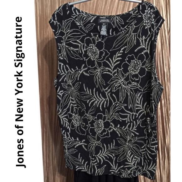 Jones New York Tops - Jones New York Signature Top Blouse Shirt 3X 24